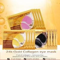 40 stücke Kollagen Augen Maske Gel Augenklappen Eye Taschen Entfernen Augenringe Straffende Hautpflege Kristall Hydrogel Patches Auge masken Pads