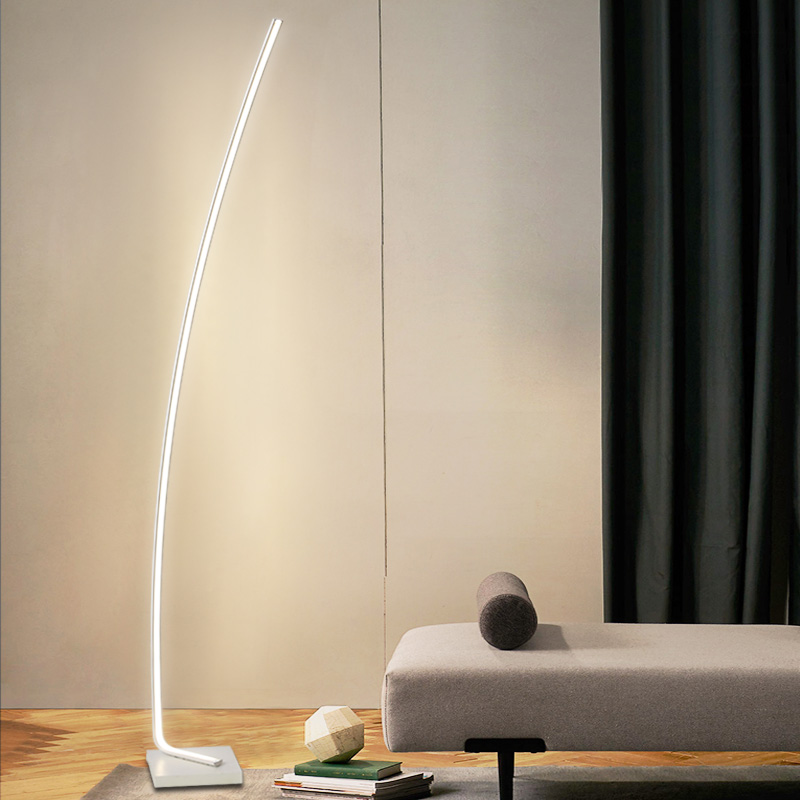 Modern LED Floor <font><b>Lamps</b></font> Living Room LED Floor lights <font><b>Standing</b></font> Family Rooms Bedroom Offices Dimmable Lighting stand <font><b>lamp</b></font> luminaria image