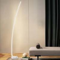 Modern LED Floor Lamps Living Room LED Floor lights Standing Family Rooms Bedroom Offices Dimmable Lighting stand lamp luminaria