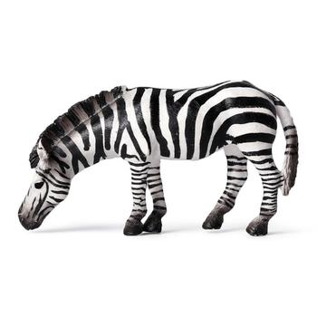 New Simulation Wildlife Zebra Foal Animal Model Figurines Toys Wild Animal Action Figures Collection Figure Toys For Children image