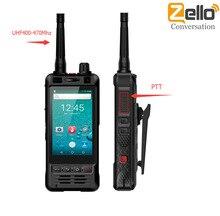 Anysecu W5 Điện Thoại PTT Đài Phát Thanh IP67 Chống Nước UHF Bộ Đàm Điện Thoại Di Động 5MP Camera 5 Hai SIM REALPTT Android 6 Điện Thoại Thông Minh