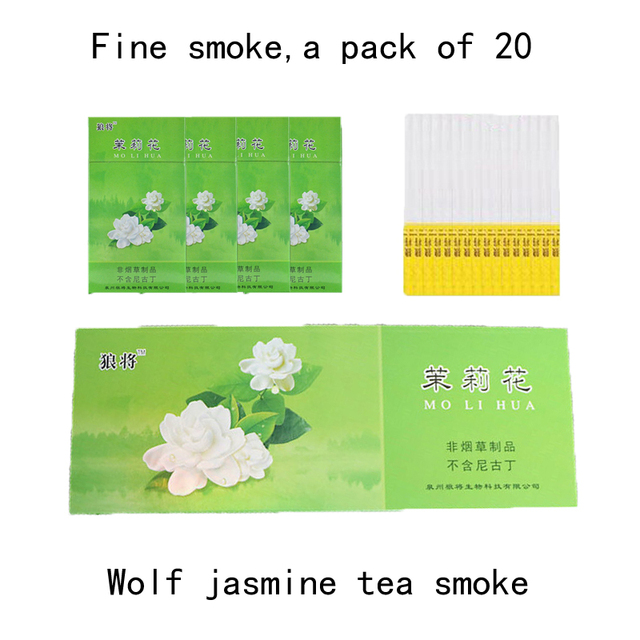 Tea Herbal Cigarettes clearing lung to Quit smoking No Nicotine & Tobacco Fine cigarettes