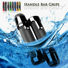 Motorcycle Accessories Aluminum CNC Rubber Gel Handlebar End Plug Hand Grips Handle Bar For SUZUKI GSX650F GSX 650F GSX650 F(China)