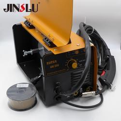 220 В только 3 в 1 MIG MMA сварочный аппарат без газа 0,5 мм до 4 мм толщина листа Максимальная проволока катушка 1 кг светильник вес 5 кг
