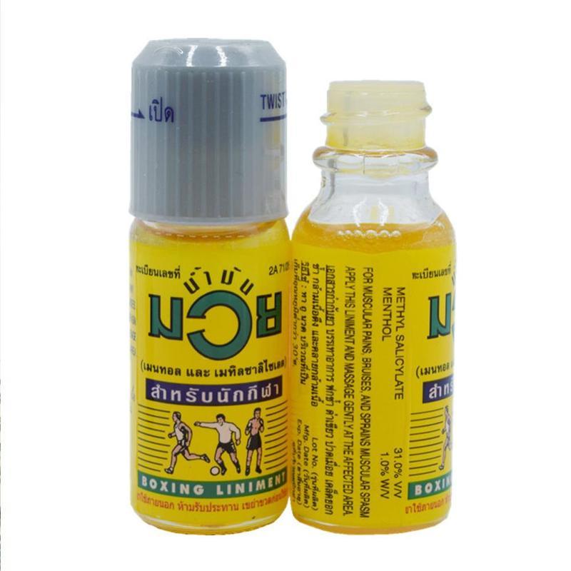 Тайское мышечное обезболивающее масло подлинный оригинальный Namman Муай Тай Бокс Линимент мышечная боль облегчение здоровья продукты|Пластыри терапевтические|   | АлиЭкспресс