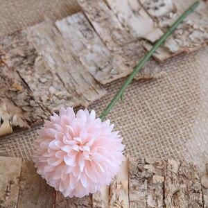 5 шт. Белый Розовый Шелковый луковый шар Одуванчик искусственная Цветочная композиция для украшения дома имитация цветов Свадебная вечерин...
