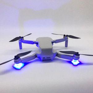 Image 2 - 1Set Flash LED Lights Night Flight Searchlight Flashlight Anti Lost Searchlight for DJI Mavic Mini Drone Accessories