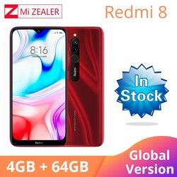 2019 Global Version Xiao Redmi 8 Smartphone 4GB RAM 64GB ROM Snapdragon 439 10W Fast Charging 5000 mah Battery Cellphone 1