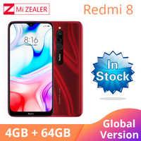 2019 globalna wersja Xiao Redmi 8 Smartphone 4GB RAM 64GB ROM Snapdragon 439 10W szybkie ładowanie 5000 mah bateria telefon
