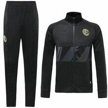 Футбольная Футболка Inter milan футбольные майки LAUTARO ICARDI NAINGGOLAN 19/20 Inter milan комплект курток для взрослых Футбольная Футболка