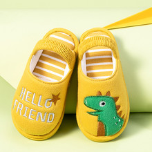 Muqgew для малышей мальчиков и для девочки Тапочки Обувь пушистые маленькая Детские зимние штаны теплые домашняя обувь для детей с милыми животными, домашние тапочки обувь