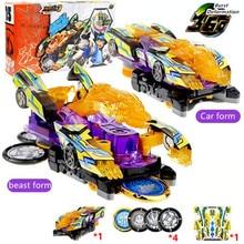 screechers wild burst flips transformation stickers robot car anime action figures hunter capture chip wafer kids boys girl toys