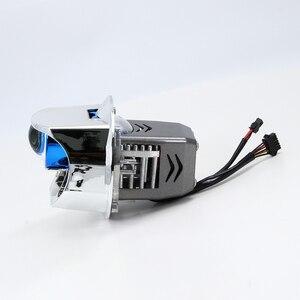 Image 4 - LK3เลเซอร์Bi Ledโปรเจคเตอร์เลนส์5000Kไฟหน้าโปรเจคเตอร์LEDสำหรับรถ