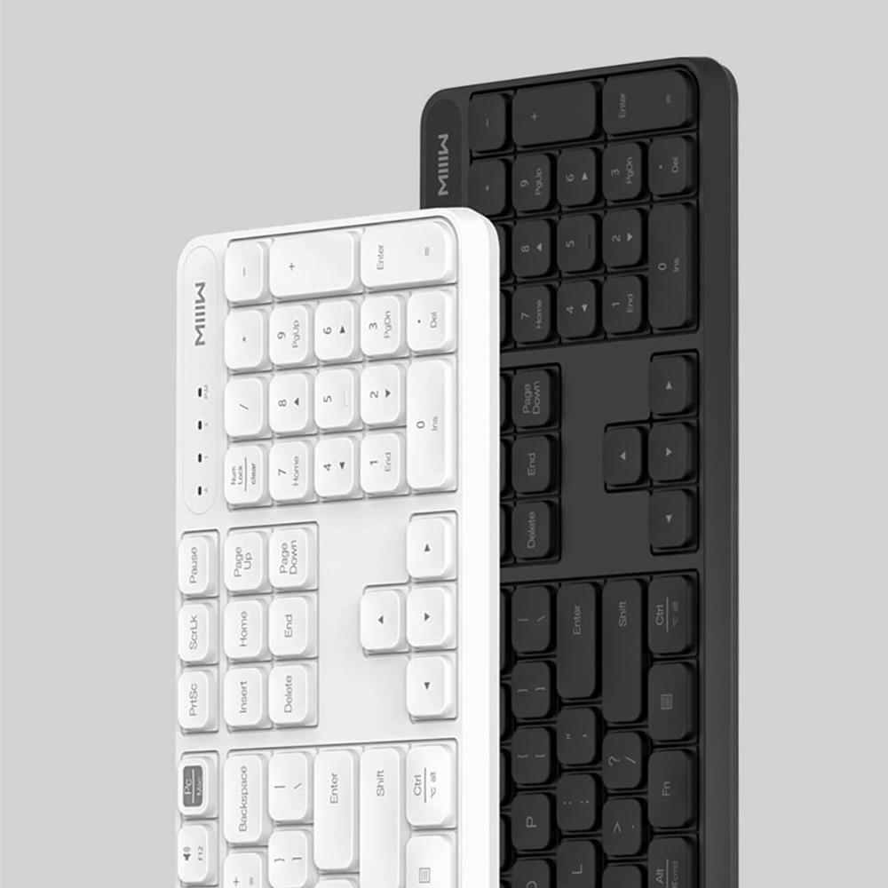 Image 4 - Original MIIIW Wireless Office Keyboard & Mouse Set 104 Keys 2.4GHz Windows PC MAC Compatible Portable USB KeyboardKeyboard Mouse Combos   - AliExpress