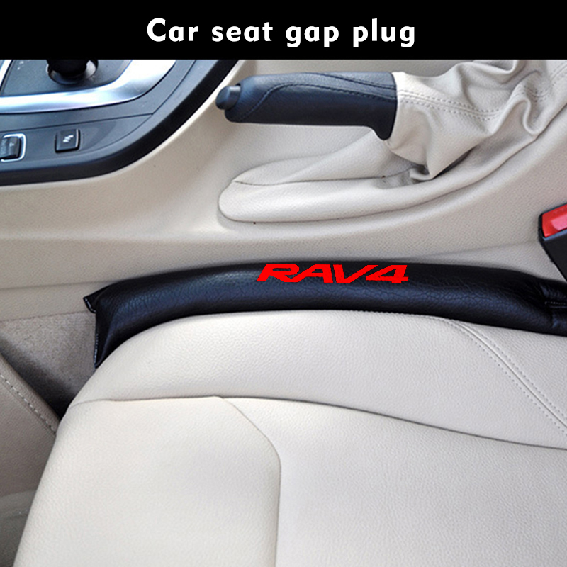 Soft Car Seat Gap Pad For Toyota RAV4 RAV 4 Filler Stopper Leak Proof Stuffing Seam Plug Auto Seat Gap Pad Car Accesories
