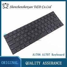 Yeni A1706 A1707 abd/İngiltere/İspanyolca/kore/fransız klavye için Macbook Pro Retina 13