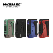 Wismec Reuleaux טינקר 2 IP67 עמיד למים mod 200W מופעל על ידי כפול 18650 סוללה סיגריה אלקטרונית mod