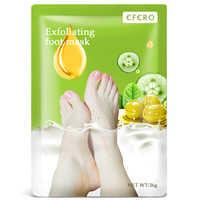 EFERO 1pack Whitening Baby Feet Mask Exfoliating Foot Peeling Mask Moisturizing Foot Cream For Cracked Heels Spa Socks Pedicure