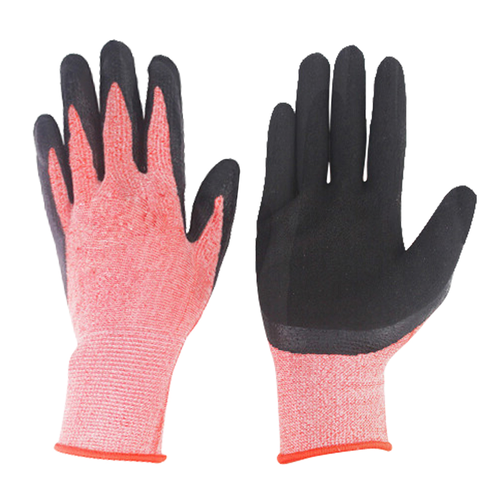 Comfortable Gardening Gloves Breathable Velvet With Puncture-resistant Nitrile Coating For Gardening Clamming Restoration Work