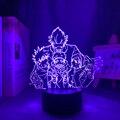 Аниме лампа Satoru Gojo команда светильник Jujutsu кайсен светодиодный ночной Светильник для подарка на день рождения Jujutsu кайсен группа Satoru Gojo ламп...