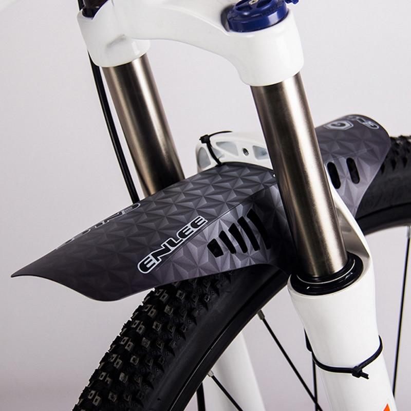 Enlee 1pair Mountain Bike Accesorios Bicicleta Mudguard MTB Bicycle Fender Road Bike Mud Guard Fit Enduro DH Bike