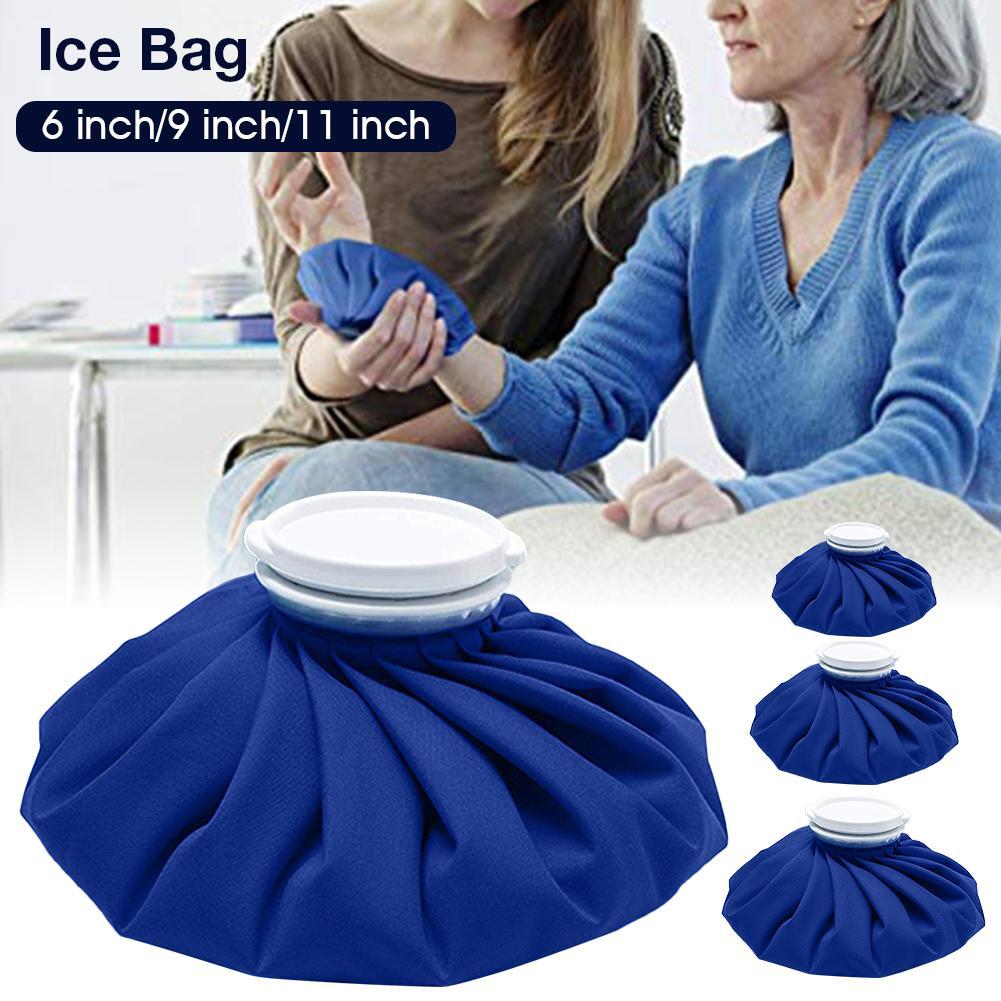 Bolsas de hielo médicas, bolsa de hielo reutilizable, bolsa de hielo reutilizable para lesiones deportivas, dolores musculares duraderos, botiquín de primeros auxilios para el cuidado de la salud, paquete de hielo para terapia en frío
