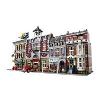 Model Building Block Bricks Toys Compatible with Creators City Street House 15001 15002 15003 15004 15005 15006 15007 15008