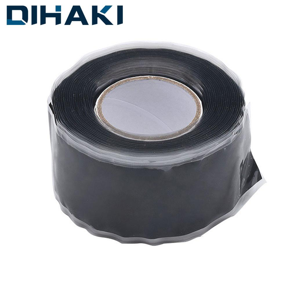 Strong Black Rubber Tape Silicone Bonding Repair Waterproof Tape Self-adhesive Multi-purpose Rescue Self Fusing Wire