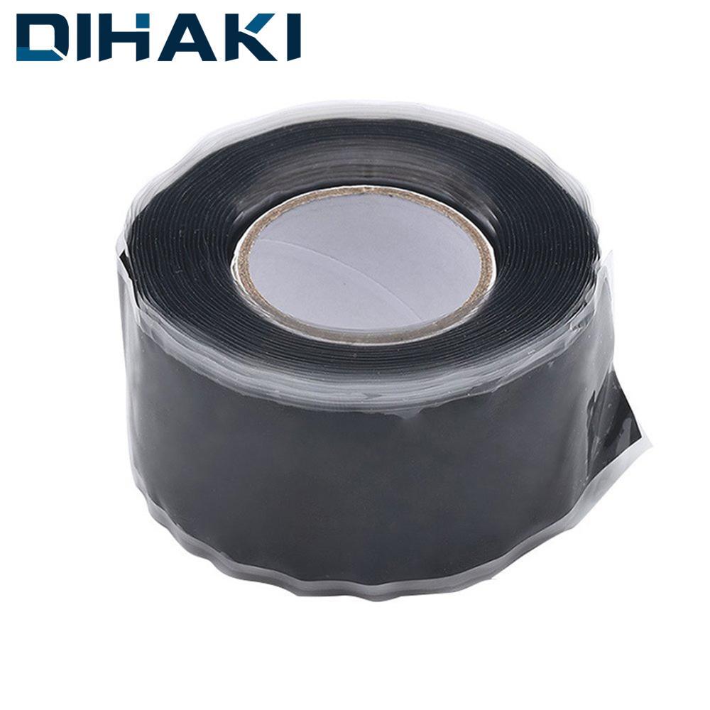 Strong Black Rubber Tape Silicone Bonding Repair Waterproof Tape Self-adhesive Multi-purpose Rescue Self Fusing Wire