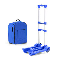 Garden carts tool trolley with wheels folding cart with wheels shopping bags