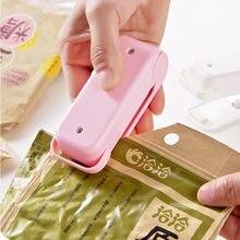 Portátil Mini Máquina Capper Foodsaver Aferidor De Calor Para Sacos De Plástico de Vedação Casa Pacote Mini Gadge
