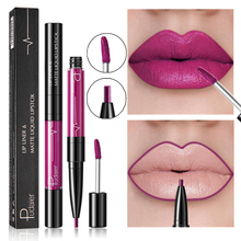 New 16 Color Liquid Lipstick Matte Red Lips Makeup Waterproof Lipstick Long Lasting Nude Purple Lip Liner Pencil Mat Lip gloss new make up lips matte liquid lipstick waterproof long lasting sexy pigment nude glitter style lip gloss beauty red lip tint