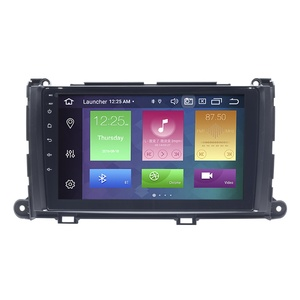 "Image 5 - 8 Core 4GB RAM+64GB ROM Car Player Multimedia 9"" DVD Player For Toyota Sienna 2009 2014 Auto Radio Navigation Head Unit Android"