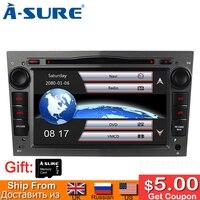 A Sure 2 Din Car Auto Radio GPS DVD Player Navigation for OPEL Antara Vectra Zafira Astra Meriva Vivaro DAB+ Rear view camera