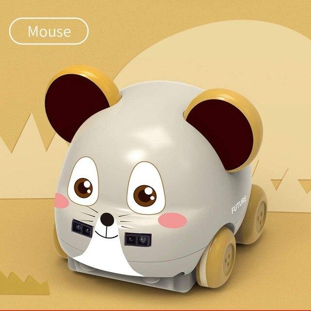 RC трюк автомобиль ручной контроль индукции следующий пульт дистанционного управления автомобиль для детей рождественские паровые подарки паровые игрушки для детей Домашние животные - Цвет: MOUSE