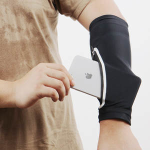 JIZI New design mobile phone bag New elastic arm bag running hand bag riding sunblock iPhone armband wrist bag arm cuff sleeve