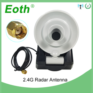 Image 1 - WiFi Antenna 2.4GHz antenna high gain 10dBi RP SMA Male Wireless WLAN Directional Radar Antenna With RG174 Cable 1M wifi router