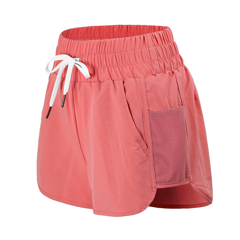 In Summer The New Sports Shorts Are Loose Quick Lady Fitness Running Leisure Running Sports Shorts Girls