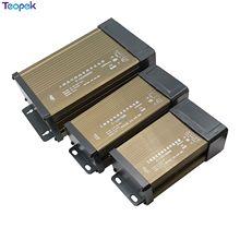 Przeciwdeszczowy zasilacz IP43 DC12V 60W 100W 150W 200W 300W 400W 220V LED transformator zewnętrzny DC 12V