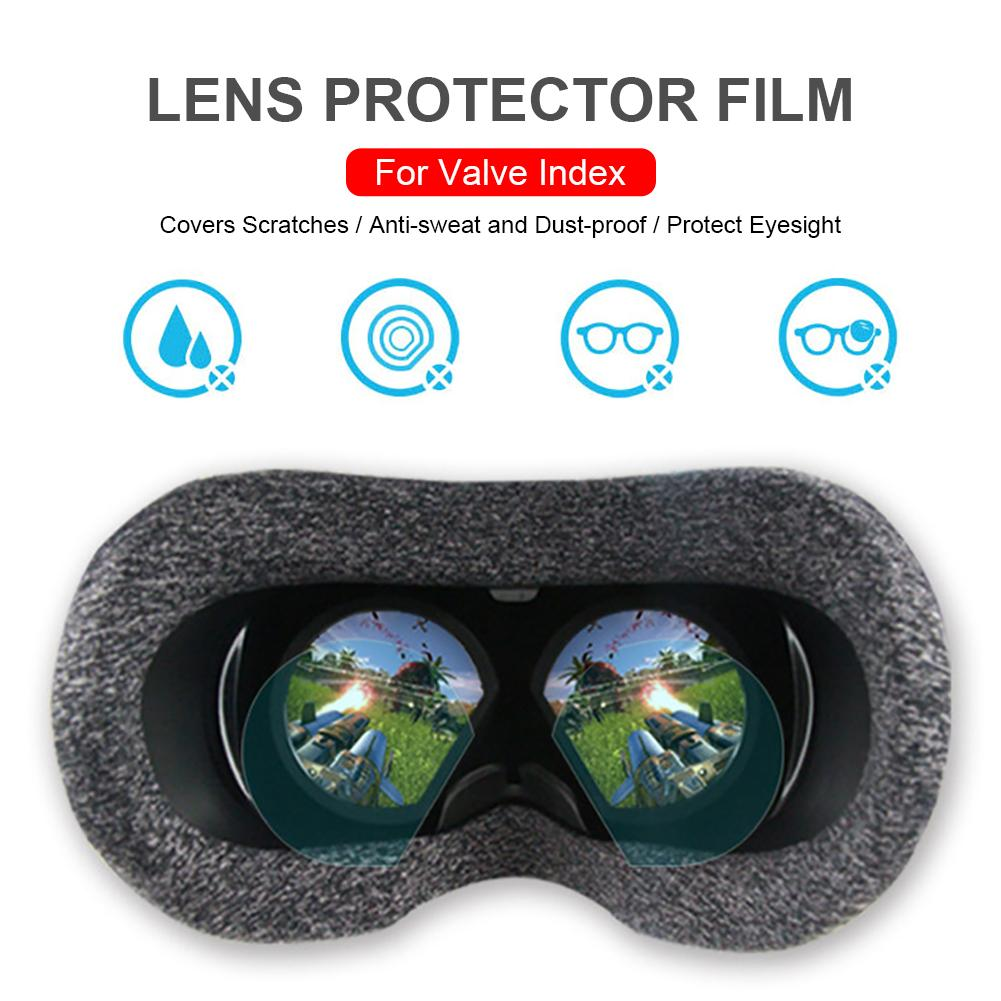 VR Lens Protector HD Clear Film Lens Protector for Valve Index Virtual Reality Screen protector accessories