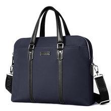 Bison denim модный мужской деловой портфель сумка из ткани для