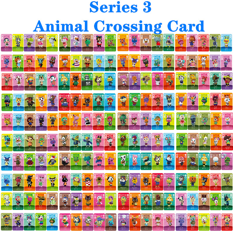 Animal Crossing Card Series3 (201 To 300) Amiibo Game Locks Nfc Card Work For NS Games Series
