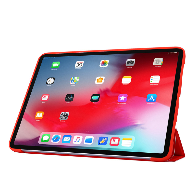 iPad Leather Soft PU Case Cover For 2020 Tri-fold Silicone Smart 11Pro For Case Case