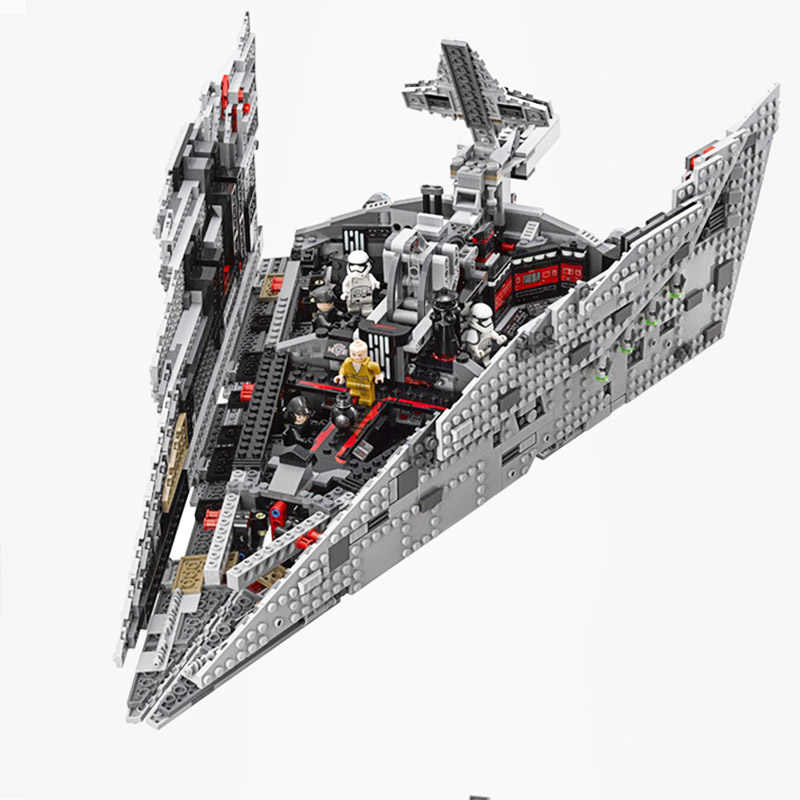 Bela 10901 First Order Star Destroyer Model Building Block Bricks Toys Compatible legoinglys Star Wars