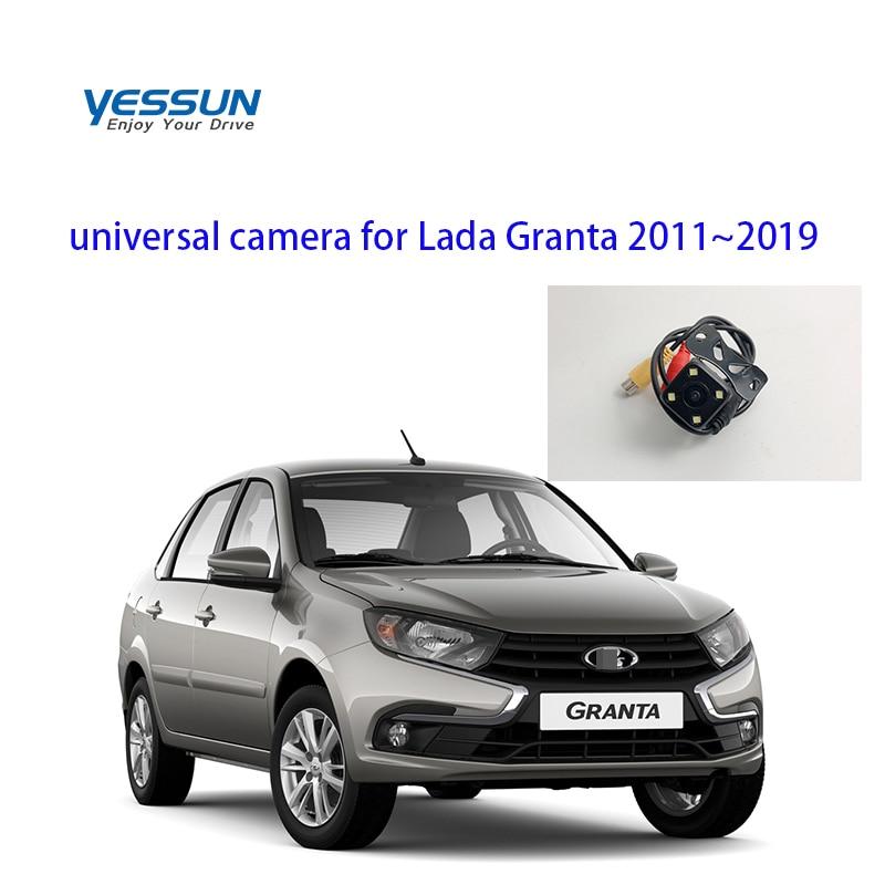 Yessun Car Rear View Camera 4 LED Night Vision Reversing Auto Parking Monitor Car Camera For Lada Granta 2011~2019