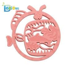 Детский Прорезыватель для зубов мультфильм животных силиконовый