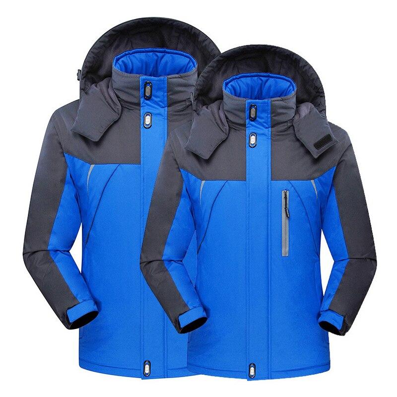 Hommes en plein air à capuche imperméable coupe-vent veste manteau de neige randonnée hiver Ski Sport pour Ski de montagne en plein air Snowboard veste