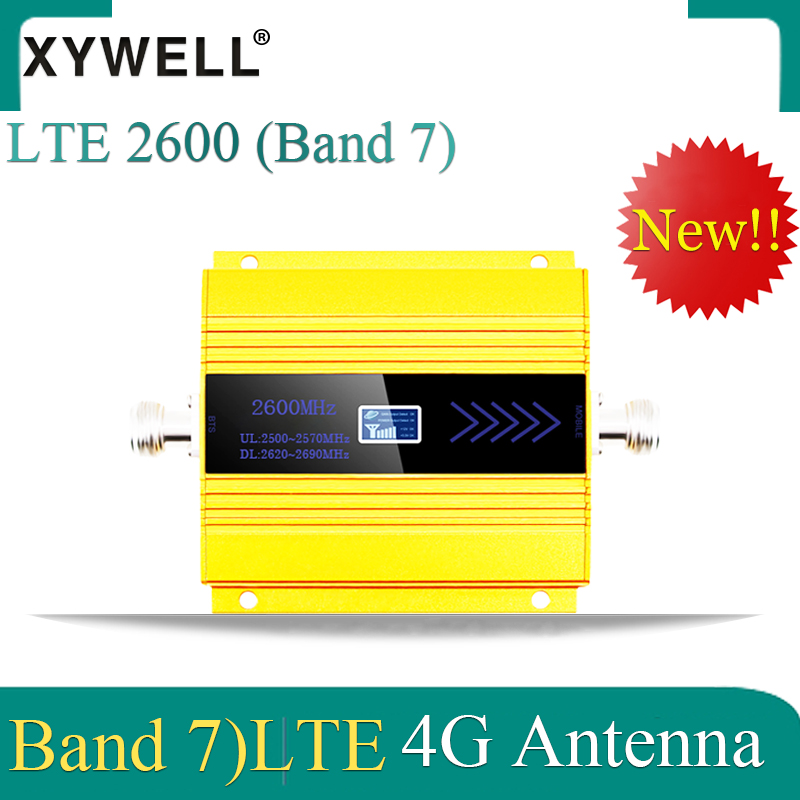 New!! Russia 4G Signal Booster FDD LTE 2600mhz Band 7 CellPhone GSM Signal Booster 4G LTE 2600 Network Cellular Signal Repeater