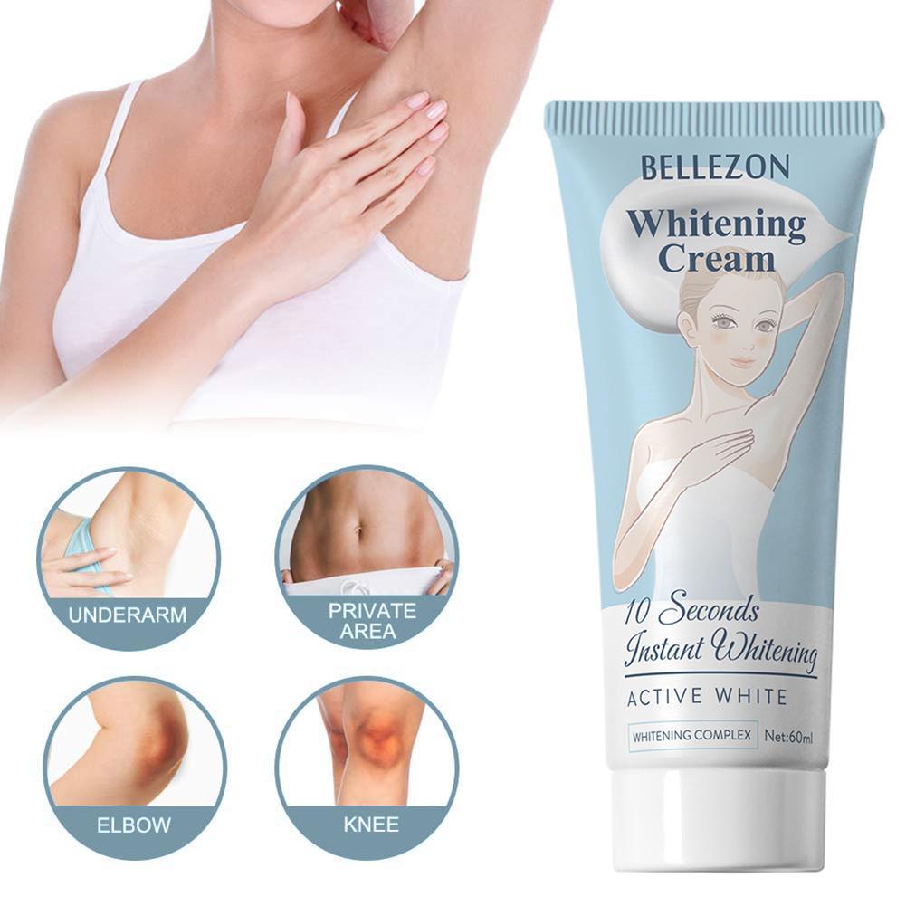 Underarm Whitening Cream Legs Knees Private Parts Armpit Whitening Body Creams Moisturizing Nourishing Essence Cream