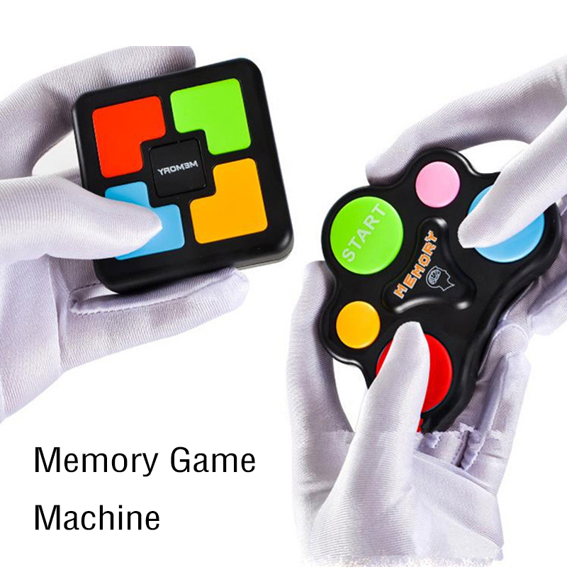 Memory Game Lights And Sounds Repeat My Flashing Souptoys Memory Training Electronic Console Puzzles Anti-Stress Toy